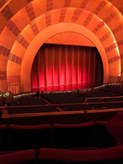 Radio City Music Hall section 1st Mezzanine 7