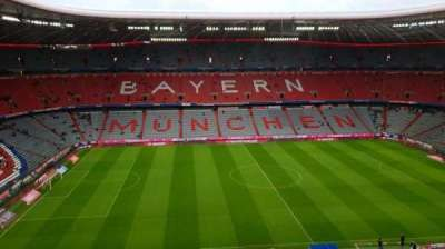Allianz Arena, section: 302, row: 5, seat: 18