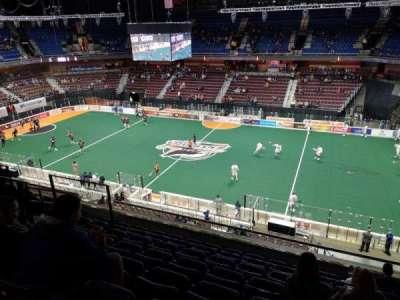 Mohegan Sun Arena, section: 105, row: H, seat: 11