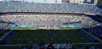 Bank of America Stadium section 543