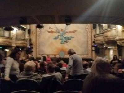 Wyndham's Theatre, section: stalls, row: P, seat: 8