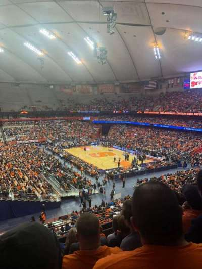 Carrier Dome section 319