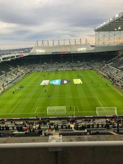 St James' Park, section: Away, row: B, seat: 428