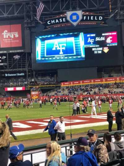 Chase Field, section: H, row: 12, seat: 17