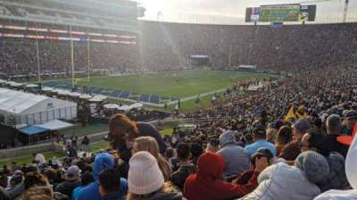 Los Angeles Memorial Coliseum, section: 127, row: 39, seat: 20