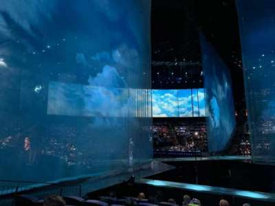 Love Theatre - The Mirage, section: 201, row: K, seat: 6