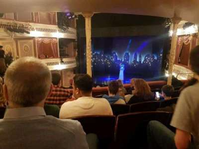 Criterion Theatre, section: dress circle, row: f, seat: 9