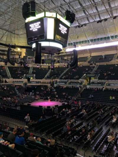 Yuengling Center, section: 101, row: K, seat: 5