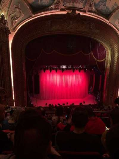 Wang Theatre, section: Balcony lc, row: K, seat: 11