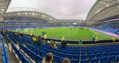 American Express Community Stadium, section: S1C, row: J, seat: 791