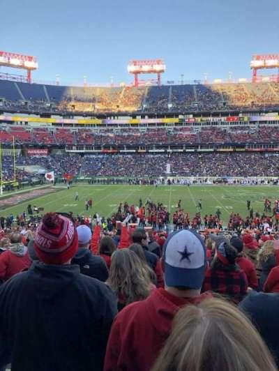 Nissan Stadium, section: 136, row: FF, seat: 22