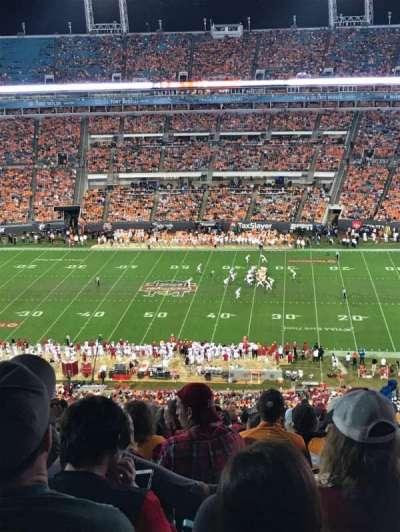 TIAA Bank Field, section: 435, row: CC, seat: 8