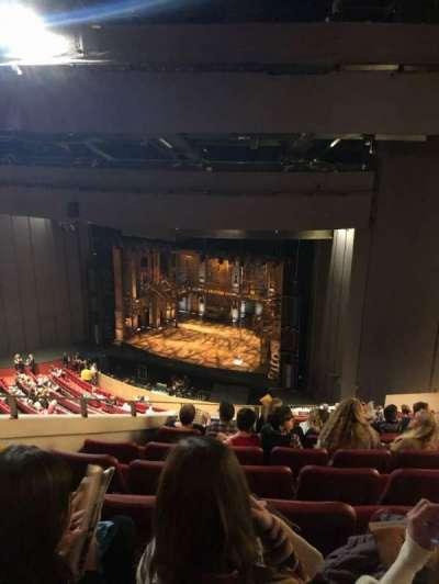 Andrew Jackson Hall, section: Balcony, row: U, seat: 3