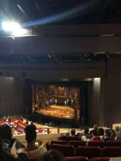 Andrew Jackson Hall, section: Balcony, row: U, seat: 4