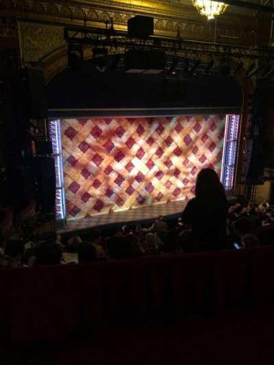 Brooks Atkinson Theatre, section: Rear Mezzanine R, row: E, seat: 5