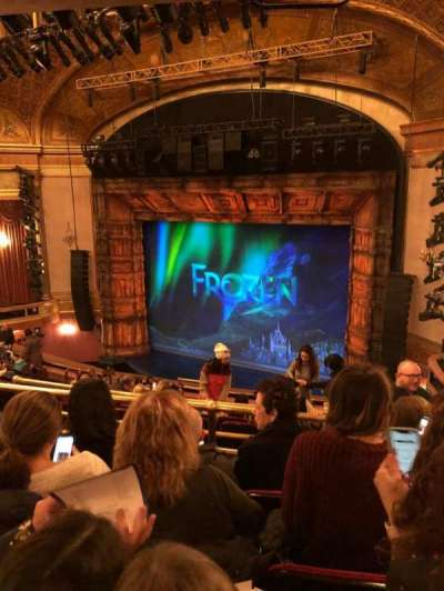 St. James Theatre, section: Mezzanine R, row: N, seat: 24