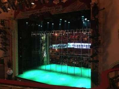 John Golden Theatre, section: Front Mezzanine R, row: B, seat: 126