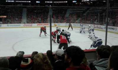 Canadian Tire Centre, section: 114, row: E, seat: 12