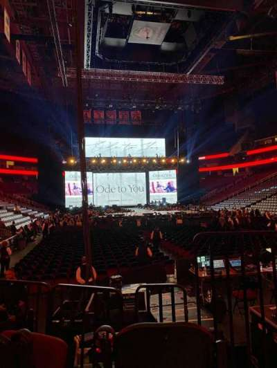 Prudential Center section 1