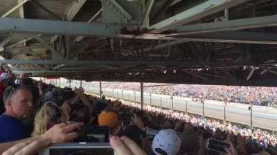 Indianapolis Motor Speedway, section: Paddock 23, row: UU, seat: 15