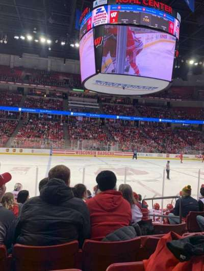 Kohl Center, section: 222, row: J, seat: 4