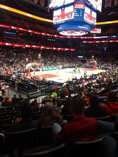 Capital One Arena section 108