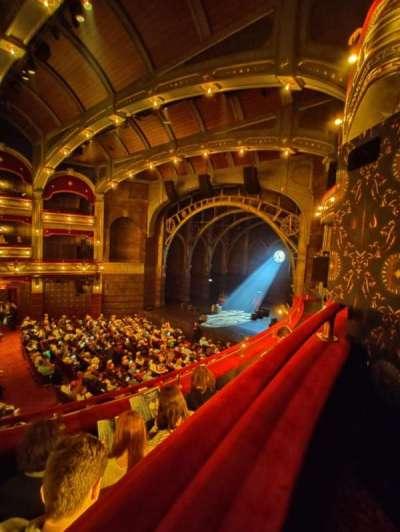 Lyric Theatre section Dress Circle B
