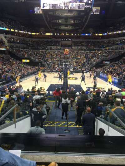 Bankers Life Fieldhouse section 11