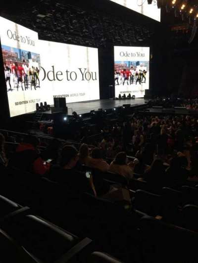 Prudential Center, section: 18, row: 10, seat: 10