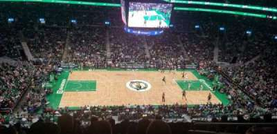 TD Garden, section: 317, row: 8, seat: 5