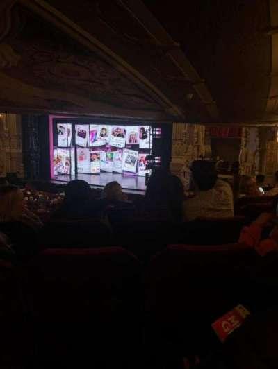 James M. Nederlander Theatre section Dress Circle R