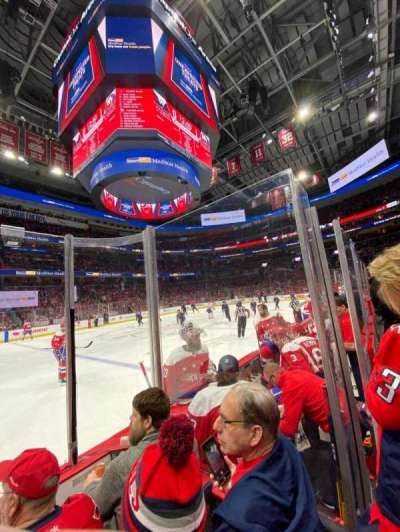 Capital One Arena section 121