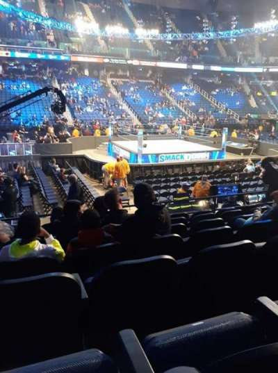 Greensboro Coliseum section 109