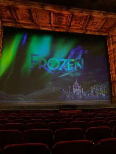 St. James Theatre, section: Orchestra C, row: J, seat: 114