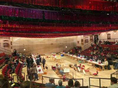 Circle in the Square Theatre, section: Orchestra 100 (Odd), row: H, seat: 115