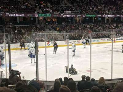 Rocket Mortgage FieldHouse, section: 123, row: 13, seat: 19