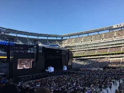 MetLife Stadium, section: 139, row: 23, seat: 3
