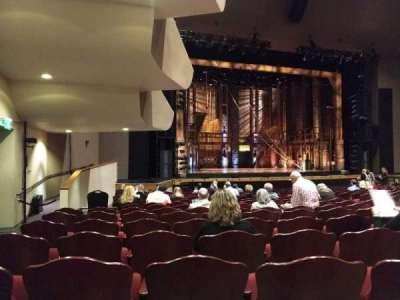Barbara B. Mann Performing Arts Hall section Orchestra L