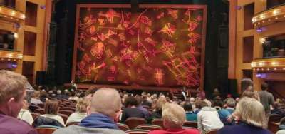 Procter And Gamble Hall at the Aronoff Center, section: Rear Orchestra C, row: P, seat: 215