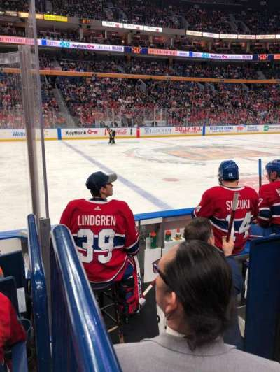 KeyBank Center, section: 106, row: 5, seat: 9