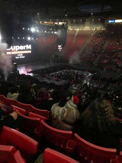 Viejas Arena, section: S, row: 21, seat: 3