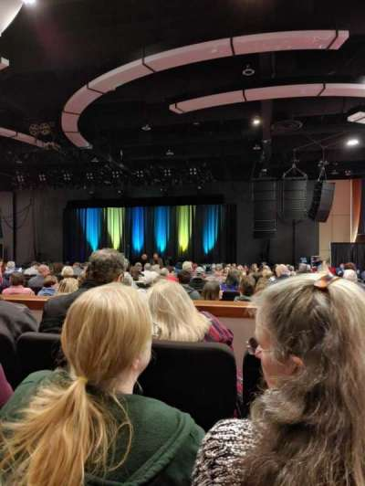 Entertainment Hall at the Soaring Eagle Casino, section: C3, row: C, seat: 6