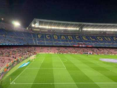 Camp Nou, section: 227, row: 001, seat: 003