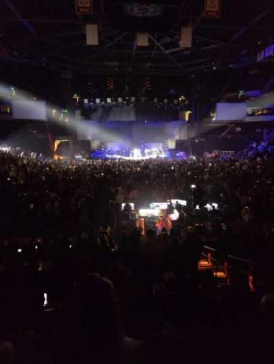 Colonial Life Arena, section: 101, row: 16, seat: 5
