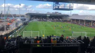 Craven Cottage, section: P6, row: SS, seat: 123