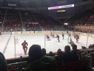Bojangles' Coliseum, section: 109, row: F, seat: 6