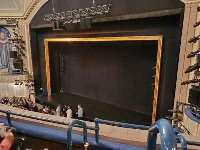 Ambassador Theatre, section: Front Mezzanine R, row: C, seat: 2