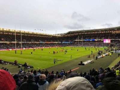 Murrayfield Stadium, section: W35, row: Z, seat: 5