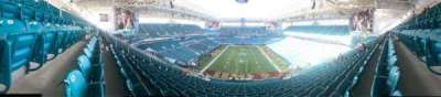 Hard Rock Stadium section 332