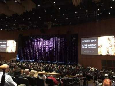 The Theater at MGM National Harbor, section: 101, row: N, seat: 20